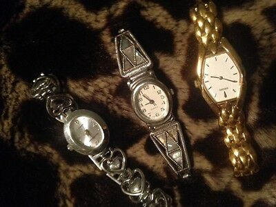 odd lot seiko l vernon ladies watches-need batteries