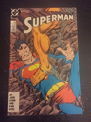 Superman #7 Incredible Condition 9.0 Byrne Art(1987) Insane!!
