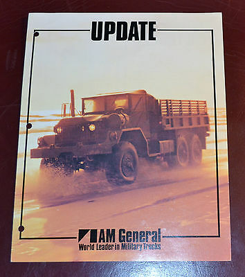 VTG 1970s Advertising AM General Update M809 M442A M151A2 M151