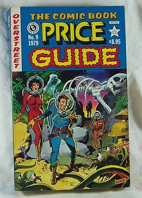 OVERSTREET COMIC BOOK PRICE GUIDE No 9 Fine+ 1979 Wally Wood Art Soft Cover N
