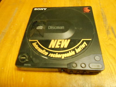 Vtg SONY  D-15 Discman Portable CD Player REPAIR OR PARTS