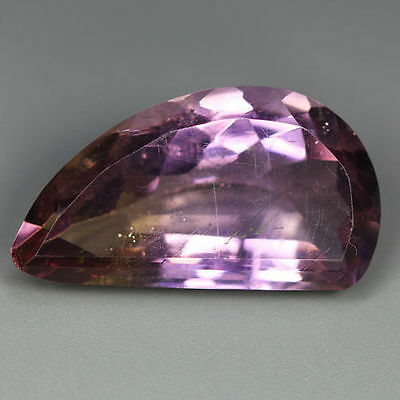 "15.05 Cts_Amazing ""world Class"" Dazzling Gemstone_100% Natural Bi-Color Ametrine"