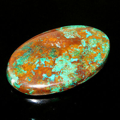 31Cts A+ 100% Natural  31X18 MM Malachite/Ruby Oval CAB LOOSE GEMSTONES