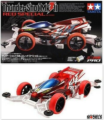 Mini 4wd PRO THUNDER SHOT MK.II 2 RED SPECIAL (MA Chassis) Tamiya 95212 1/32 New