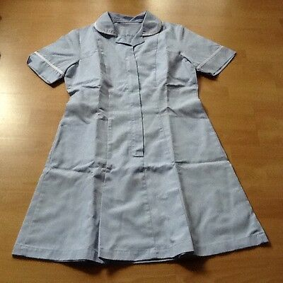 Nurses Pale Blue Dress Size 12/14