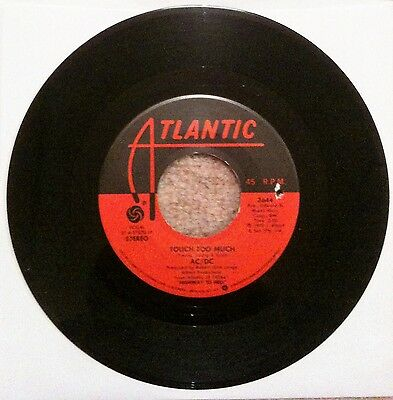 AC/DC – Touch Too Much Atlantic 3644 1979 US RELEASE