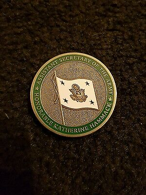 us challenge coin Assistant secretary of the army
