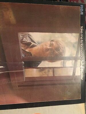 Take me to tomorrow John Denver LP Vinyl record