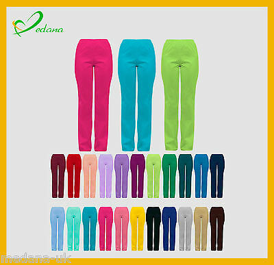 Medical Trousers Womens Health Beauty Scrub Uniform 23 Colours HIGH QUALITY