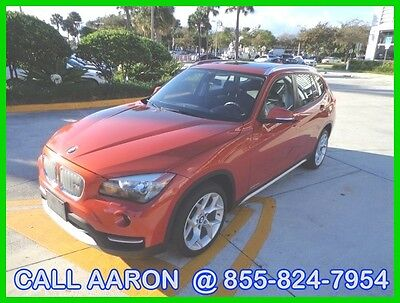 2013 BMW X1 WE SHIP, WE EXPORT, WE FINANCE 2013 BMW X1 Xdrive 28i IN RARE VALENCIA ORANGE!! CAR IS LOADED LEATHER NAVI +++