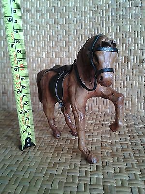 Besmo hand made leather Horse figure