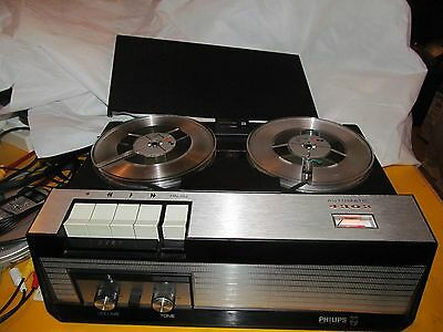 PHILIPS 4302 REEL TO REEL TAPE RECORDER   Ref 4