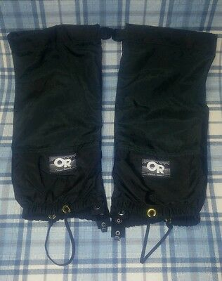 Outdoor research gaiters