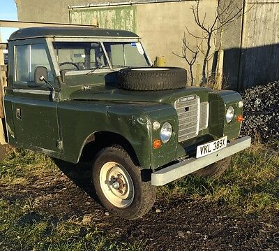 land rover series 3,109,petrol,utility