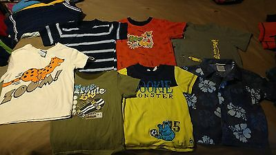 Lot of 7 Toddler Boys Shirts, Size 3T