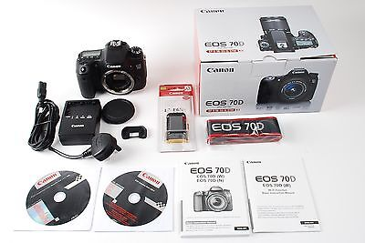 Canon EOS 70D Camera Body Excellent Condition - Free Delivery