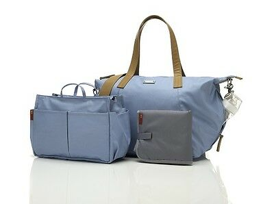 Storksak NOA Baby Blue Nappy Bag - New with Tags!!