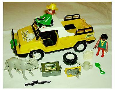 playmobil 3679 color safari jeep ngorongoro mit stiften. Black Bedroom Furniture Sets. Home Design Ideas