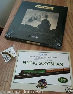 Classic Minitrains Flying Scotsman Z Gauge Die Cast Metal New Sealed