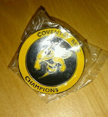 Coventry Champions Speedway Badge