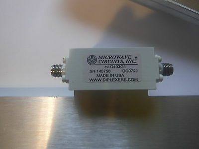 RF microwave LTE C/A cellular High pass filter 1400 MHz  10W