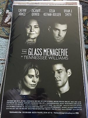 The Glass Menagerie-Zachary Quinto-Broadway Window Card!