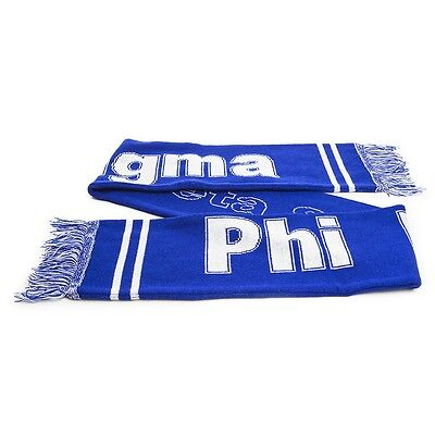 Phi Beta Sigma Fraternity Knit Scarf- New!