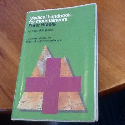 Medical handbook for Mountaineers