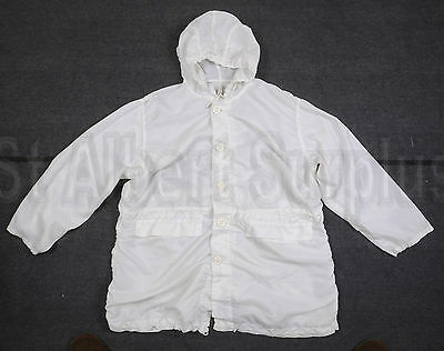 Canadian Army Winter White Camo Camouflage Coat - Size 6744 - 417R9