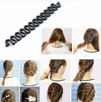 Women Hair Braiding Tool Roller Magic Hair Twist Styling Bun Maker Clip Band