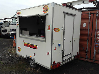 catering trailer.
