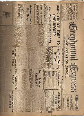 18 Greyhound Express And Coursing News, Newspapers 1946