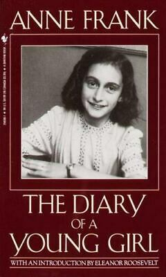 The Diary of a Young Girl by Anne Frank paperback book FREE SHIPPING ann