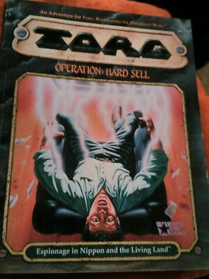TORG OPERATION:HARD SELL roleplay West End Games 20561