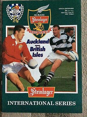 Auckland V The British Lions 1993