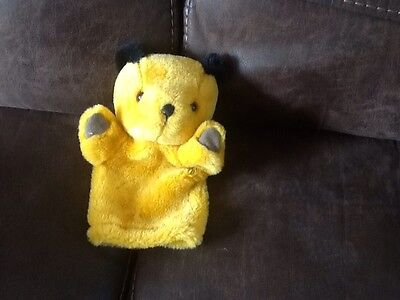 sooty hand puppet soft toy