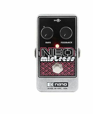 Electro-Harmonix Neo Mistress Flanger Guitar Effects Pedal NEW IN BOX