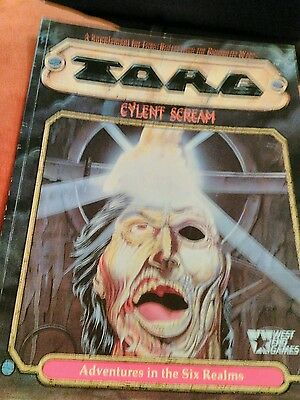 TORG CYLENT SCREAM roleplay by West End Games 20566