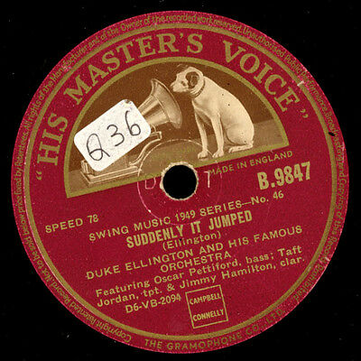 DUKE ELLINGTON &  HIS FAMOUS ORCHESTRA Warm Valley / Suddenly it jumped    X2125