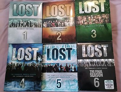 LOST Complete Series All Seasons DVD. Like New.