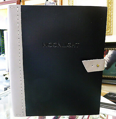 MOONLIGHT Movie Hand Signed Movie Script Leather Bound Barry Jenkins