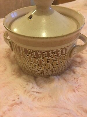 Vintage Denby Chantilly Small Bowl With Lid