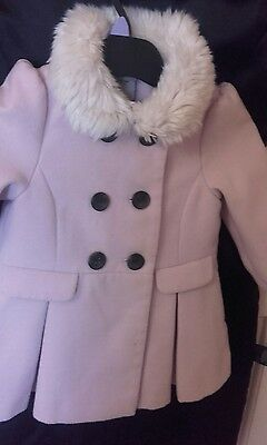 next childs pink coat i love next 1-2 yrs excellent condition wow so beautiful