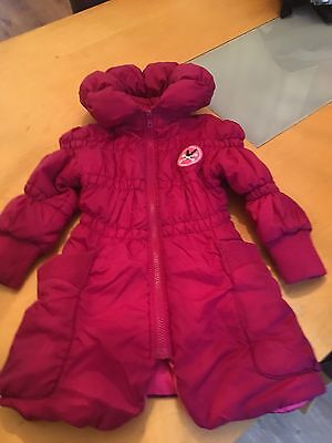 Girls 'No added Sugar' Coat (with Hidden Hood) - Age 3 years