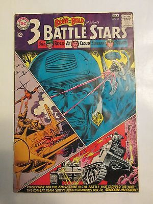 The Brave and the Bold #52 (Feb-Mar 1964, DC) First Sgt. Rock Team, Kubert Cover