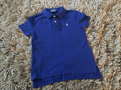 Ralph Lauren Polo Top Blue Age 5 Years