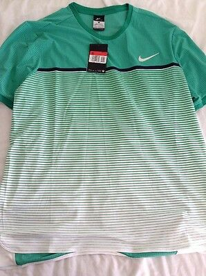 Nike Challenger Premier Crew Top Tennis Size Large 728953 319