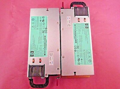 * LOT OF 2 * 500172-B21 - HP DL585 DL580 ML370 1200W Power Supplies - 498152-001