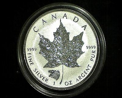Canada  2016 Silver Maple Leaf WITH GRIZZLY BEAR Privy Reverse Proof MINT COND