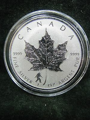 Canada  2016 Silver Maple Leaf BIGFOOT Privy Reverse Proof MINT CONDITION